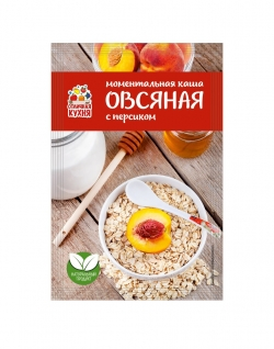 Каша овсяная «Персик»