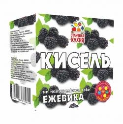 Кисель «Ежевика»